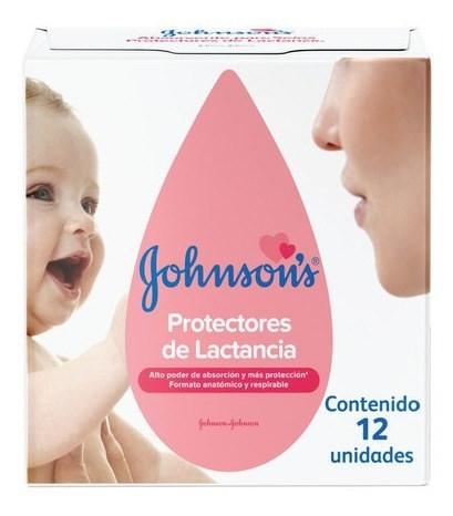 Johnson's Protectores Mamarios X 12 Un.