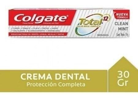 Crema Dental Colgate Total 12 Clean Mint 30g #1