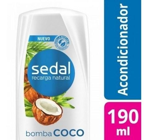 Acondicionador Sedal Bomba Coco 190ml