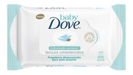 Toallitas Humedas Dove Baby Hidratación Sensible X50