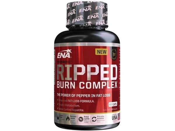 Ripped Burn Complex Ena Sport Quemador Grasa Termogénico 60c