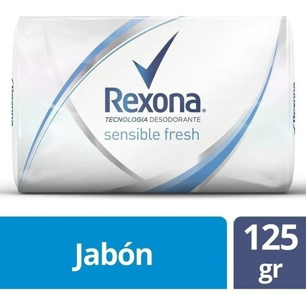 Jabón Rexona Sensitiv X125g