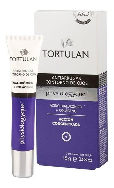 Crema Facial Tortulan Physio Contorno Ojos X15g