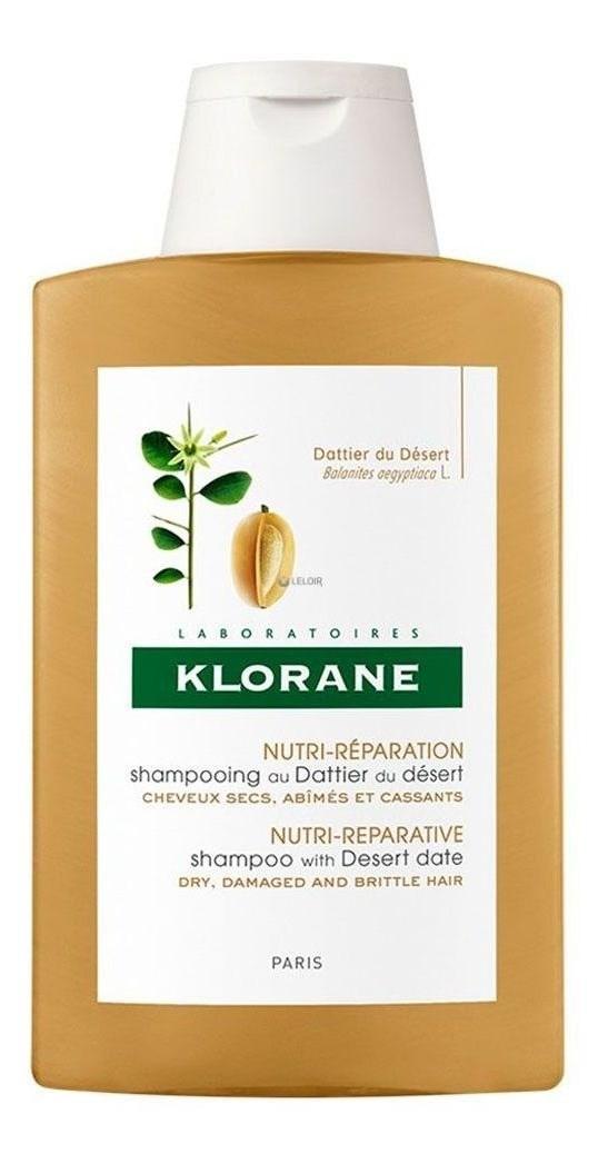 Klorane Shampoo Dátil Del Desierto X 200 Ml