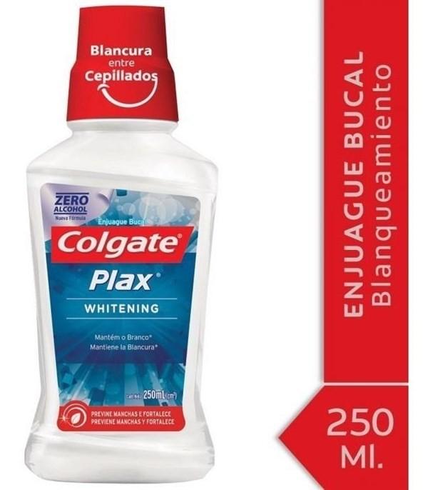 Enjuague Bucal Colgate Plax Whitening 250ml