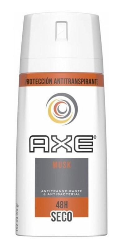 Desodorante Antitranspirante Aerosol Axe Musk 90 Gr 152 Ml