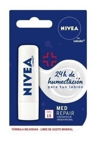 Nivea Protector Labial Med Protection X 4,8 Gr