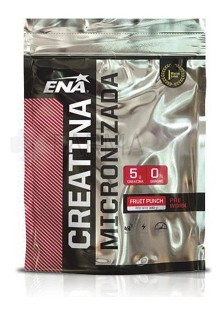 Creatina Micronizada Fruit Punch (300 Grs) - Ena Sport