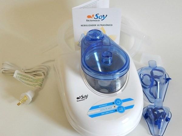 Nebulizador Ultrasonico Silencioso Soy Tu Farmacia