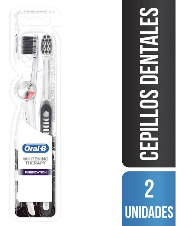 Cepillos Dentales Oral-b Whitening Therapy Purification