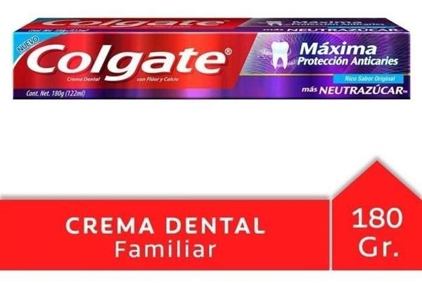 Crema Dental Colgate Máxima Protección Anticaries Neutrazúca