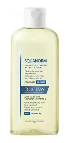Ducray Squanorm Shampoo Tratante Caspa Grasa X 200 Ml