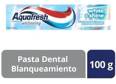 Crema Dental Aquafresh White & Shine X 100 Gr