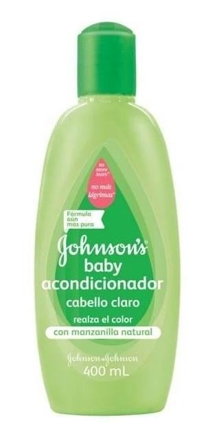 Johnson's Baby Acondicionador Para Cabello Claro 400 Ml