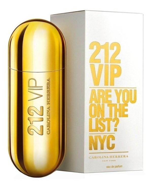 Perfume Carolina Herrera 212 Vip New York 80ml Mujer