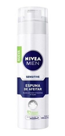 Nivea Espuma De Afeitar For Men Sensitive X 200 Ml