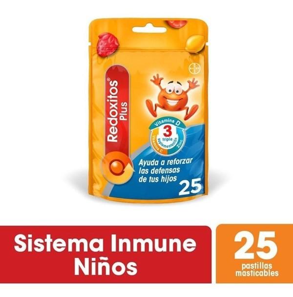 Redoxitos Plus Pastillas Masticables X 25u