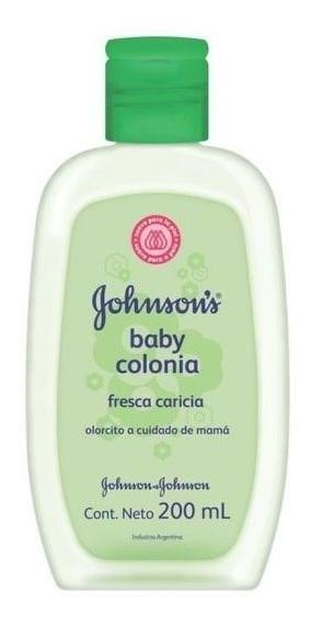 Johnson's Baby Colonia Fresca Caricia X 200 Ml
