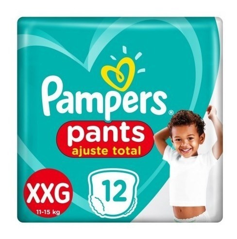 Pañales Pampers Pants Ajuste Total Xxg 12 Unidades