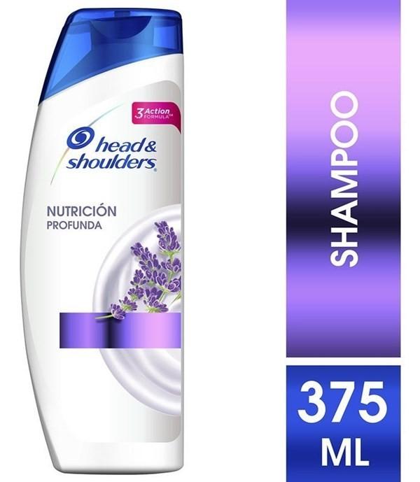 Shampoo Head & Shoulders Nutrición Profunda