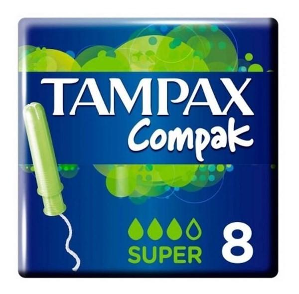 Tampax Tampones Compak Super X 8 Un