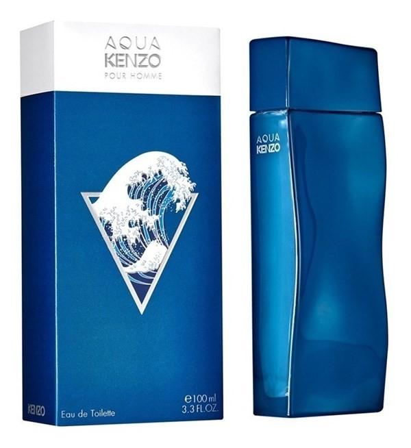 Perfume Importado Hombre Kenzo Aqua Pour Homme 100 Ml