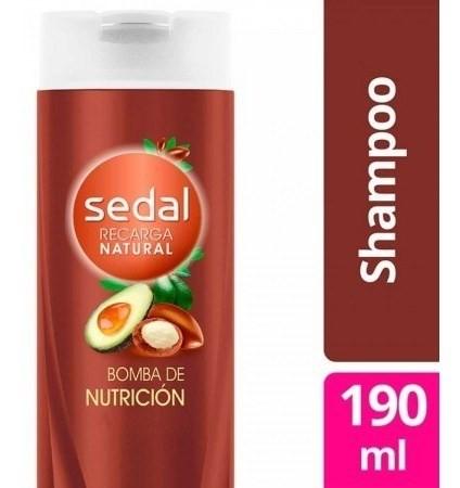 Shampoo Sedal Bomba Nutrición 190ml