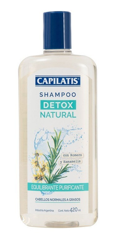 Capilatis Shampoo Detox Natural X 420 Ml