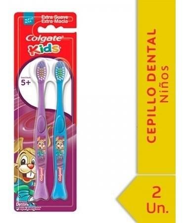 Cepillo Dental Colgate Kids 5+ Años 2 Unidades