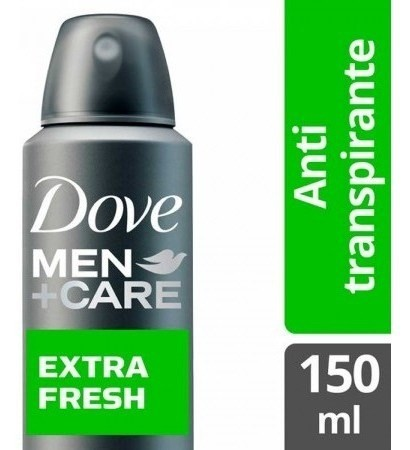 Desodorante Dove Men Care Antitranspirante Extra Fresh 150ml