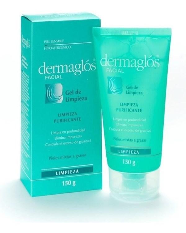 Dermaglos Facial Gel De Limpieza Purificante X150g