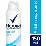 Desodorante Rexona Antitranspirante Cotton Dry 150ml #1