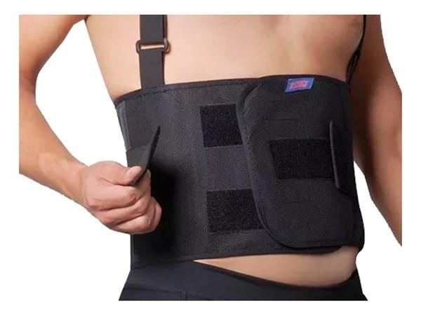 Faja Lumbar Elastica De Trabajo Body Care Bc1308e