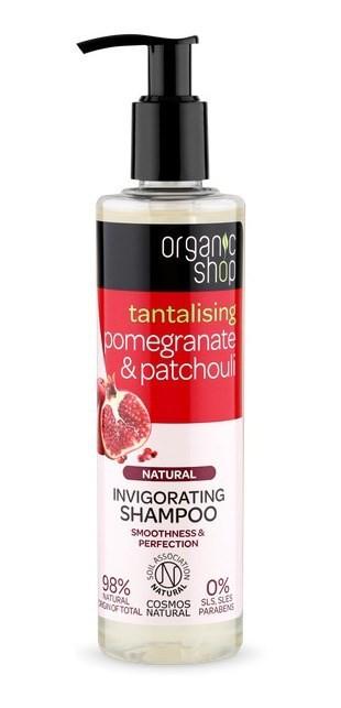 Organic Shop Shampoo Vigorizante Granada Y Patchouli