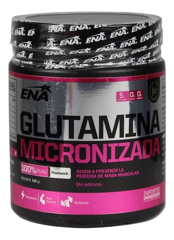 Ena Glutamina Micronizada Rápida Recuperación X 150g