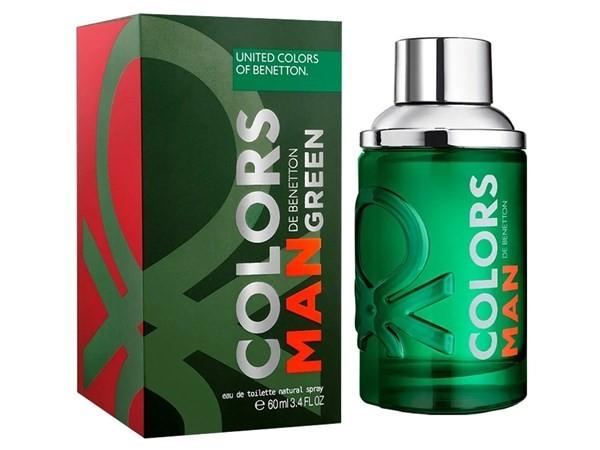 Perfume Benetton Colors Green Edt 60ml