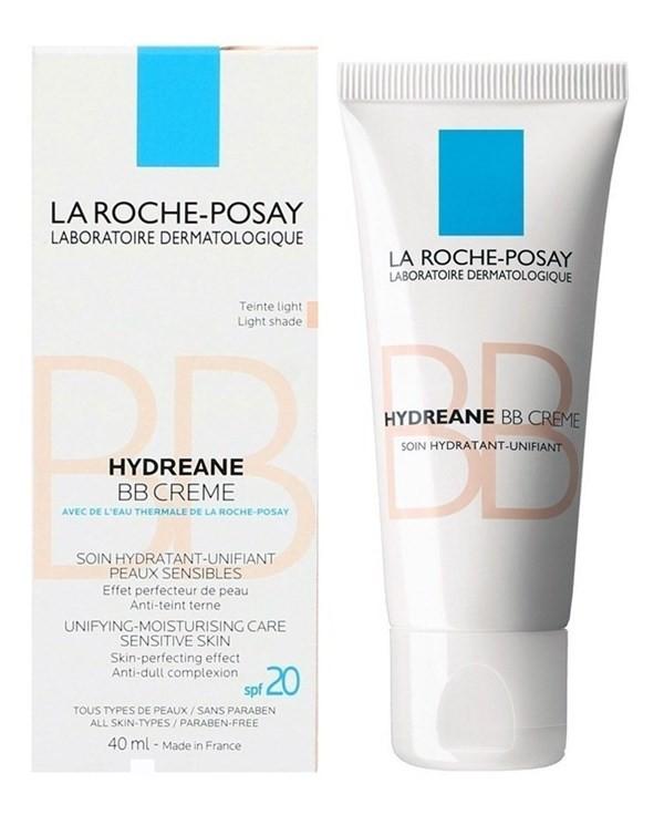 La Roche Posay Hydreane Bb Cream Base Maquillaje Claro 40ml
