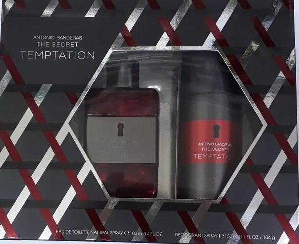 Perfume Antonio Banderas The Secret Temptation Edt 100ml+deo alt