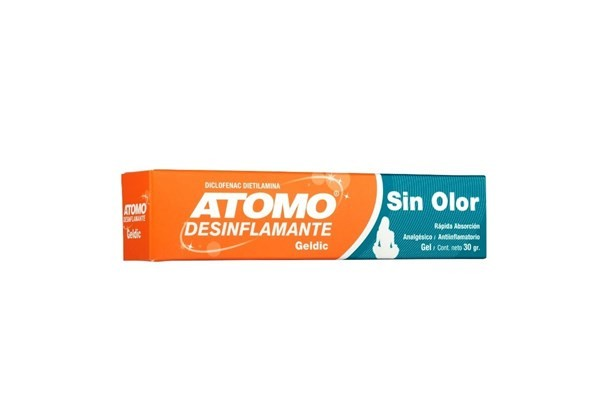 Atomo Desinflamante Gelnic 30gr