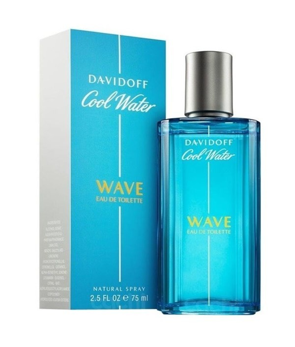 Perfume Davidoff Cool Water Wave Homme Edt 75ml