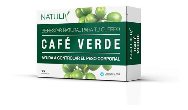 Natuliv Café Verde 60 Cápsulas
