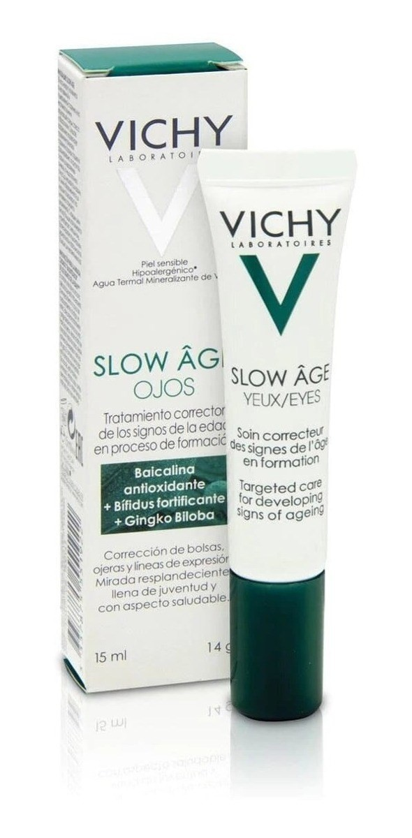 Vichy Slow Age Contorno De Ojos Para Retrasar El Envejecimie