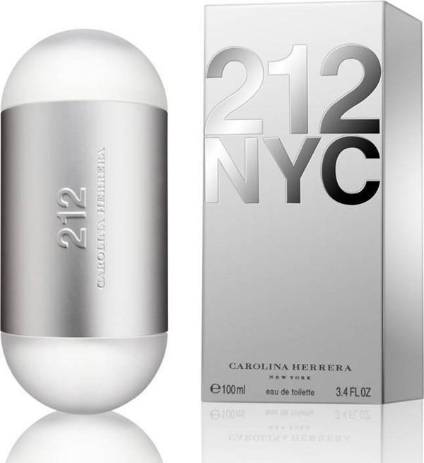 Perfume  212 Nyc Carolina Herrera Eau De Toilette 100 Ml