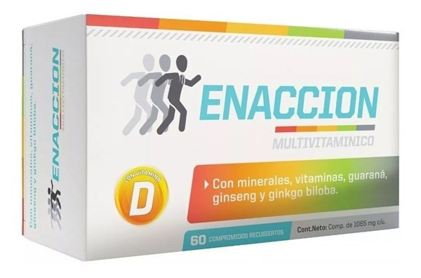 Enacción Multivitamínico Ena X 60 Comprimidos