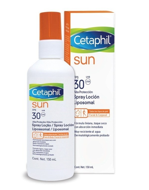 Cetaphil Protector Solar 30 Fps Sun Spray Loción 150ml   #1