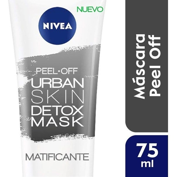 Nivea Mascara Facial X75ml Urban Detox Peel Off