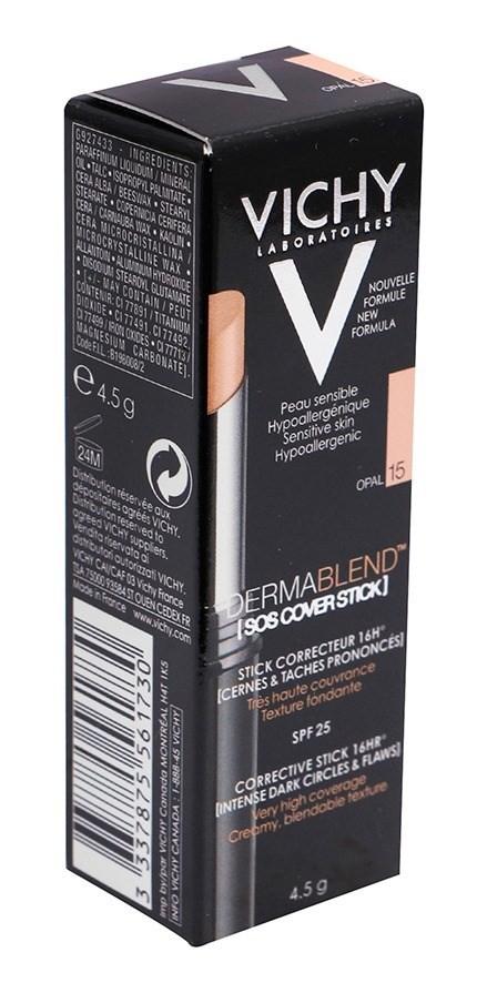 Vichy Dermablend Sos Stick Corrector Tono 15