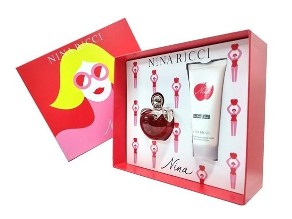 Perfume Importado Mujer Nina Ricci Nina Edt 80ml + Loción