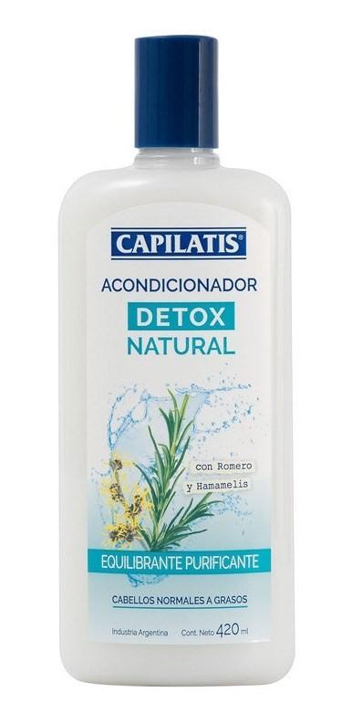 Capilatis Acondicionador Detox Natural X 420 Ml
