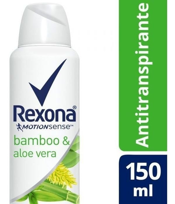 Desodorante Rexona Antitranspirante Bamboo Y Aloe 150ml